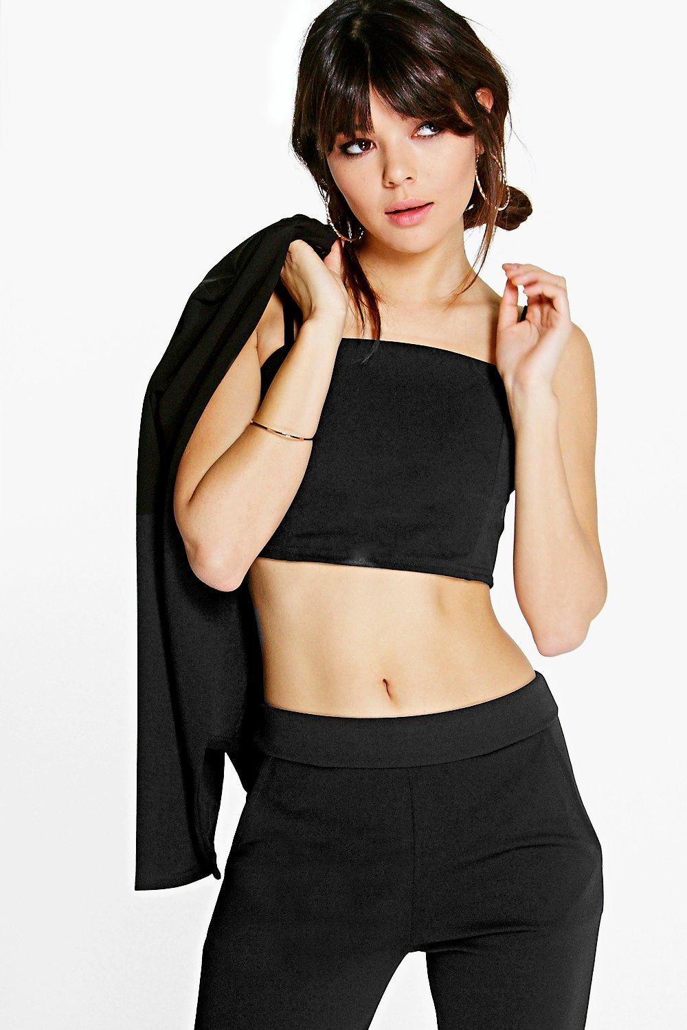 Molly Crop Strappy Top
