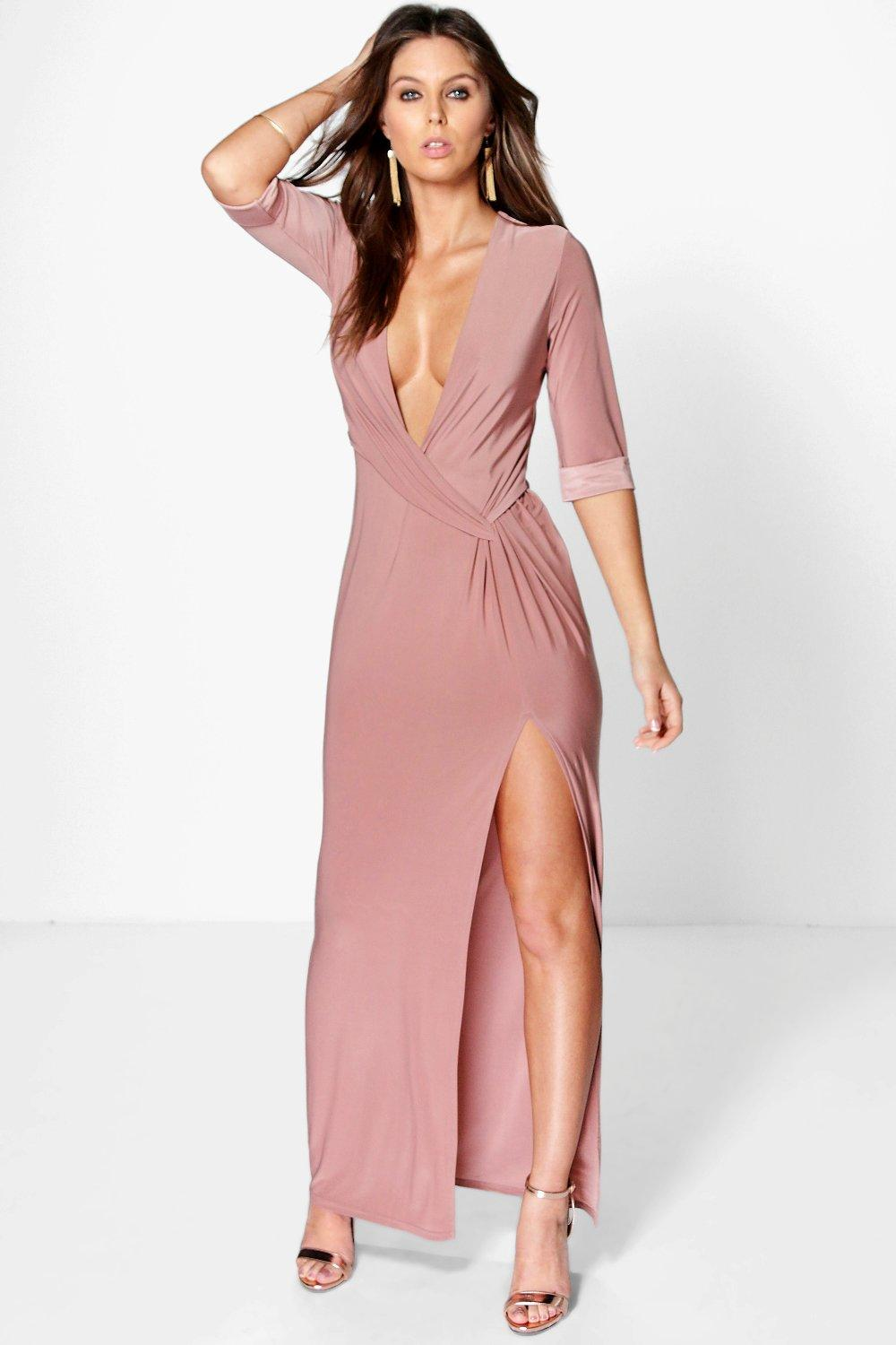 Willa Knot Detail Maxi Dress
