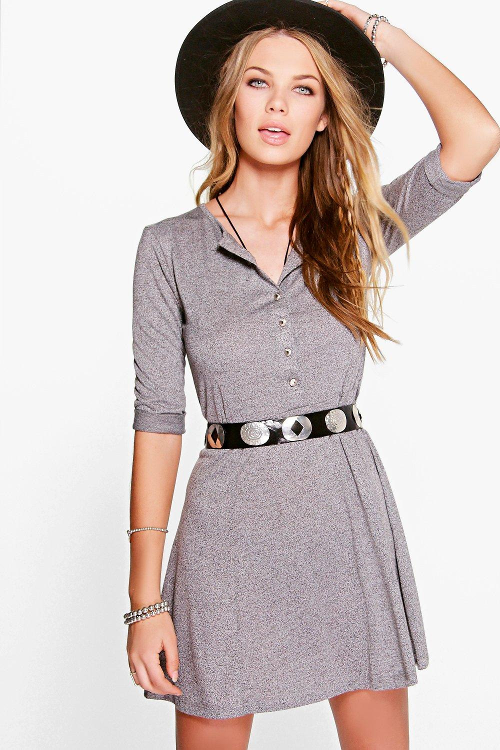 Karla Panelled Skater Dress