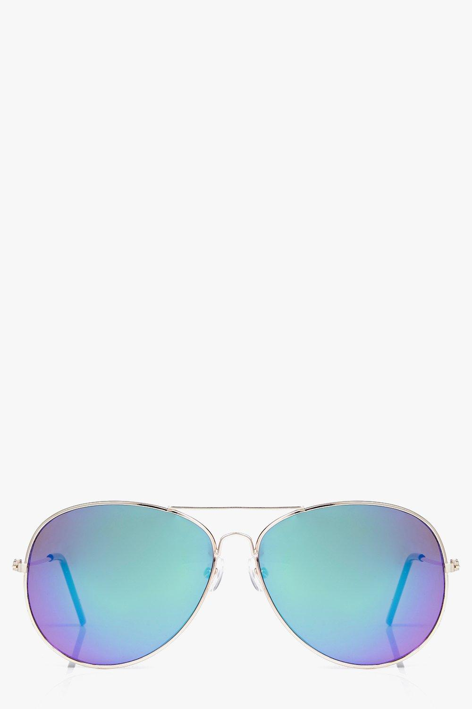 Sale Accessories Gold Frame Mirror Lens Aviator Sunglasses