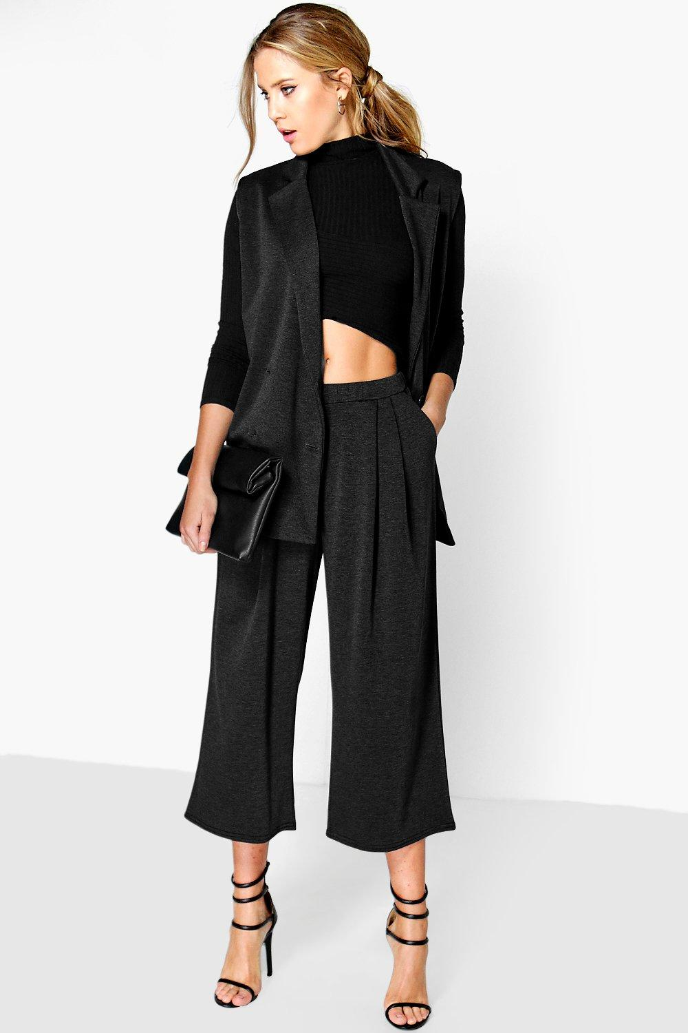 Dawn Wide Leg Crop Trouser
