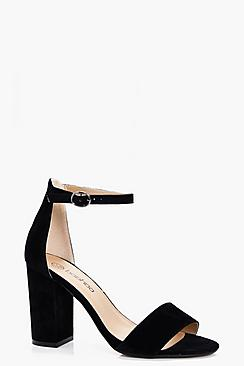 Lois Two Part Block Heels
