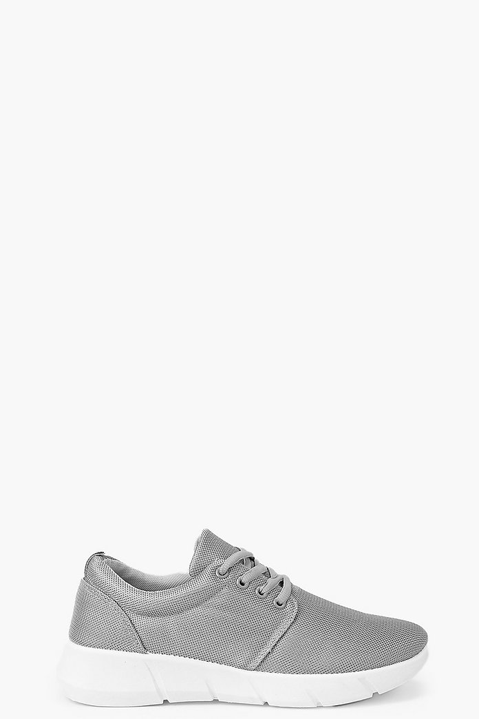 Naomi Mesh Lace Up Trainer