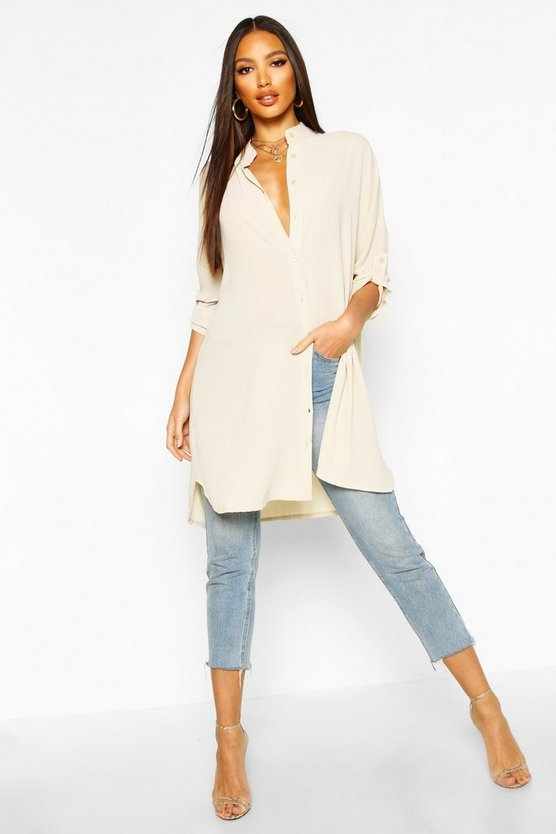 Grace Longline Oversized Sleeve Shirt