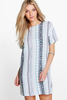 Daria Floral Shift Dress