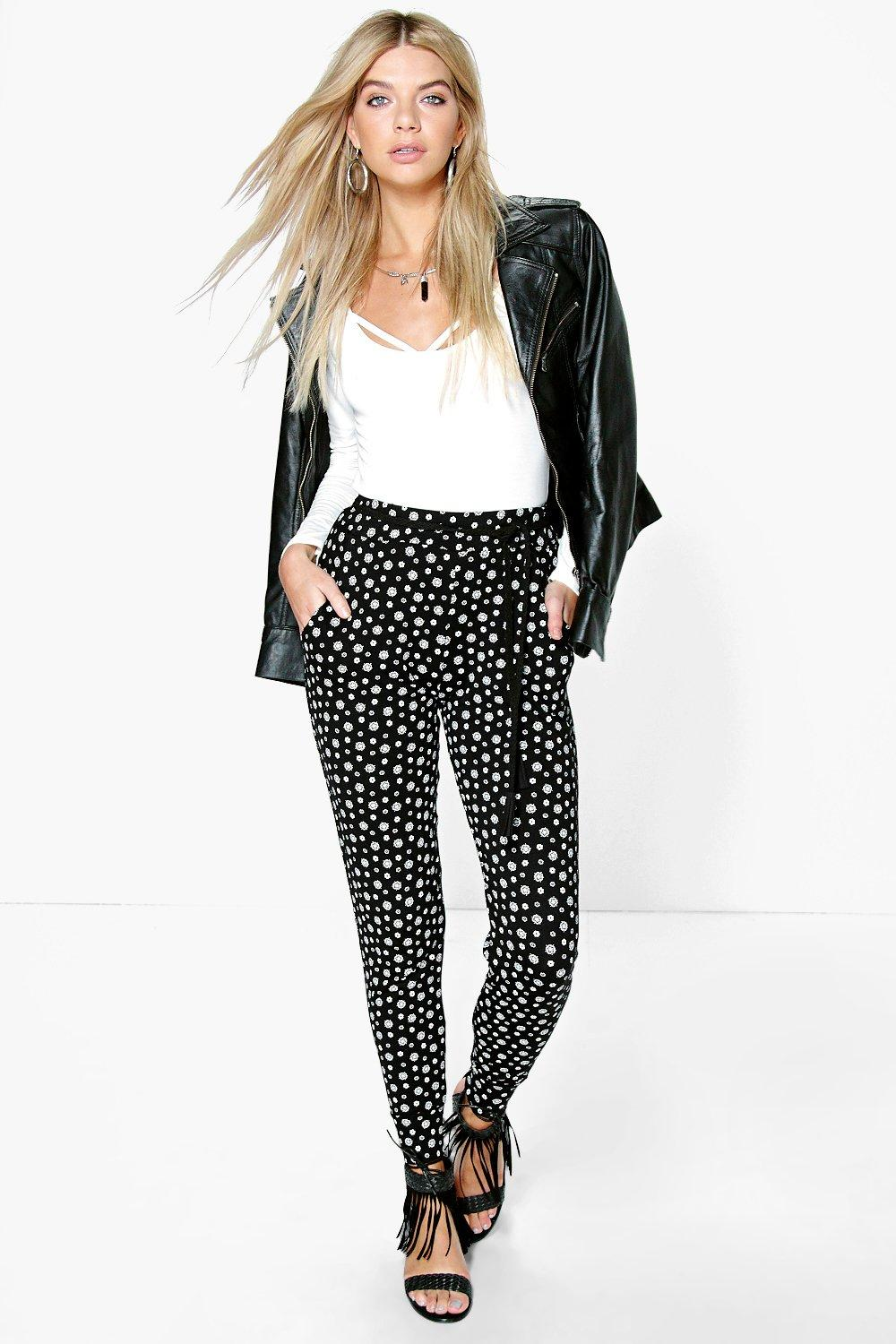 Sofia Bohemian Print Relaxed Joggers