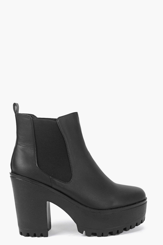 Freya Chunky Cleated Chelsea Boot
