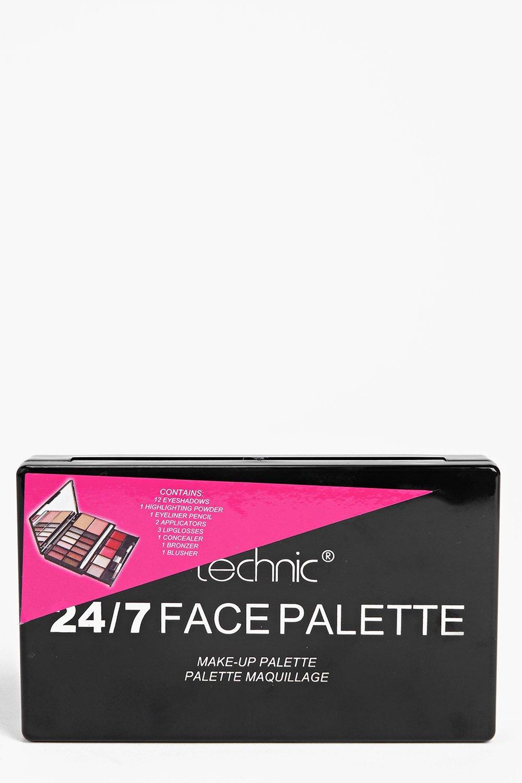 Image of boohoo 24/7 Face Palette - multi