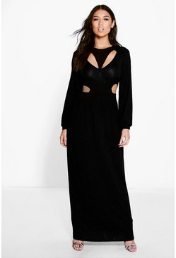 Sophia Cut Out Split Side Maxi Dress