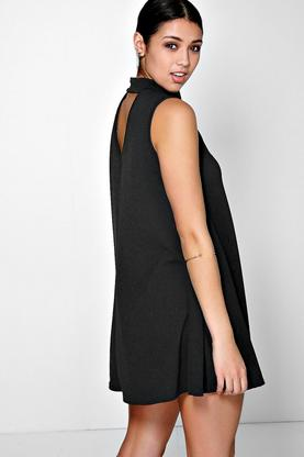 Mileena Cut Out Back Swing Dress