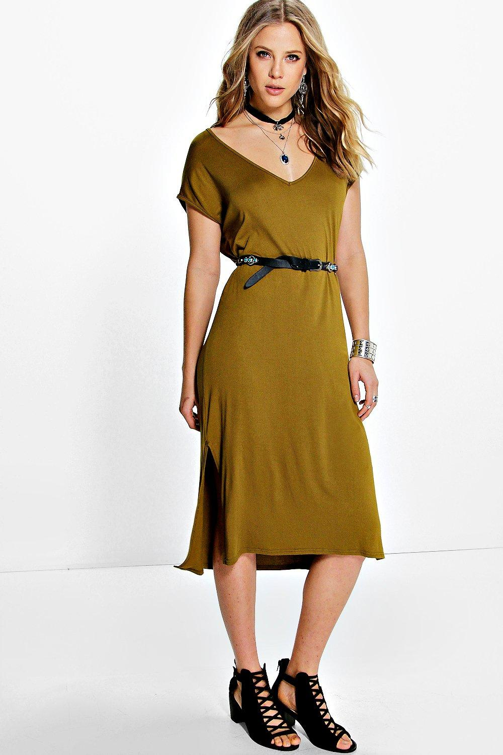 Nina Split Side Midaxi Dress
