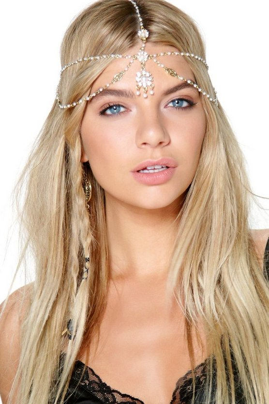 Harriet Faux Pearl Head Chain