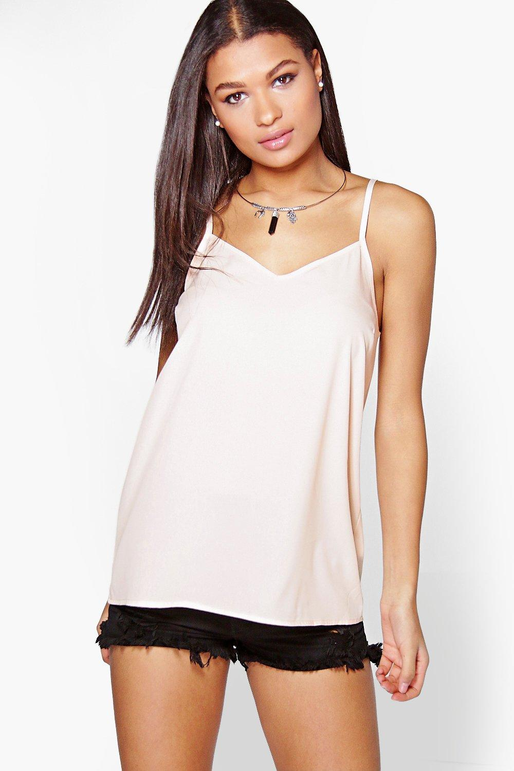 Jane Woven Solid Cami
