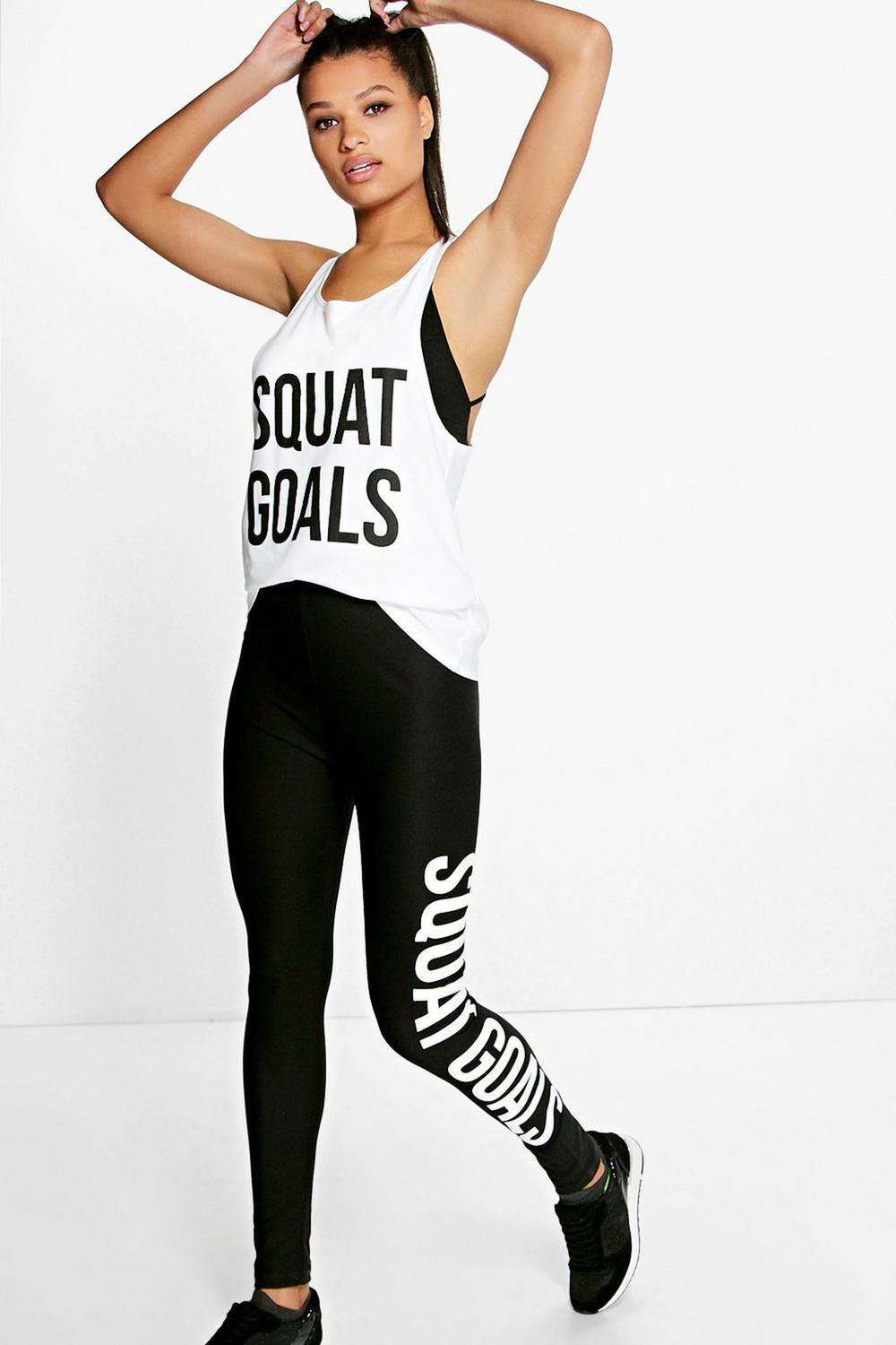 Emily Fit Squat Goals Sport Running Legging