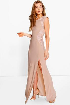 Veronica Lace Insert Maxi Dress