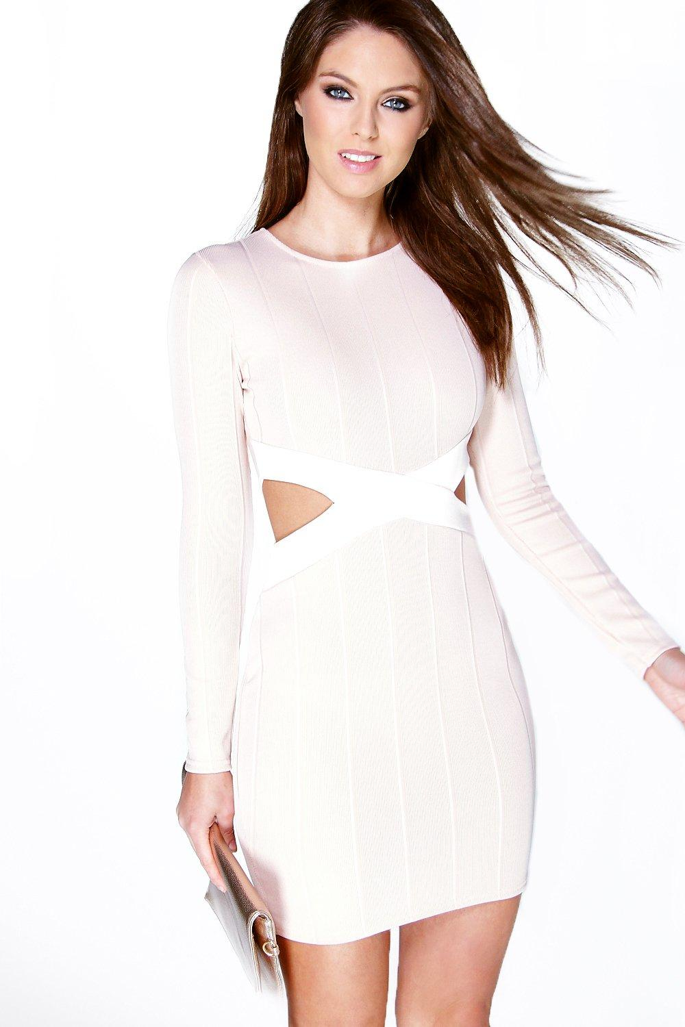 Angelika Cut Out Bandage Bodycon Dress