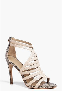 Jasmine Caged Front Tassel Stiletto