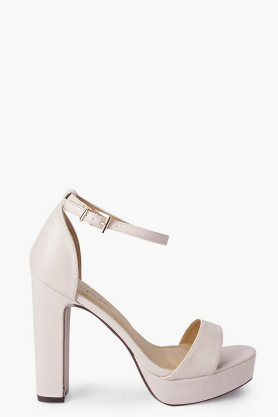 Imogen Two Part Platform Heel