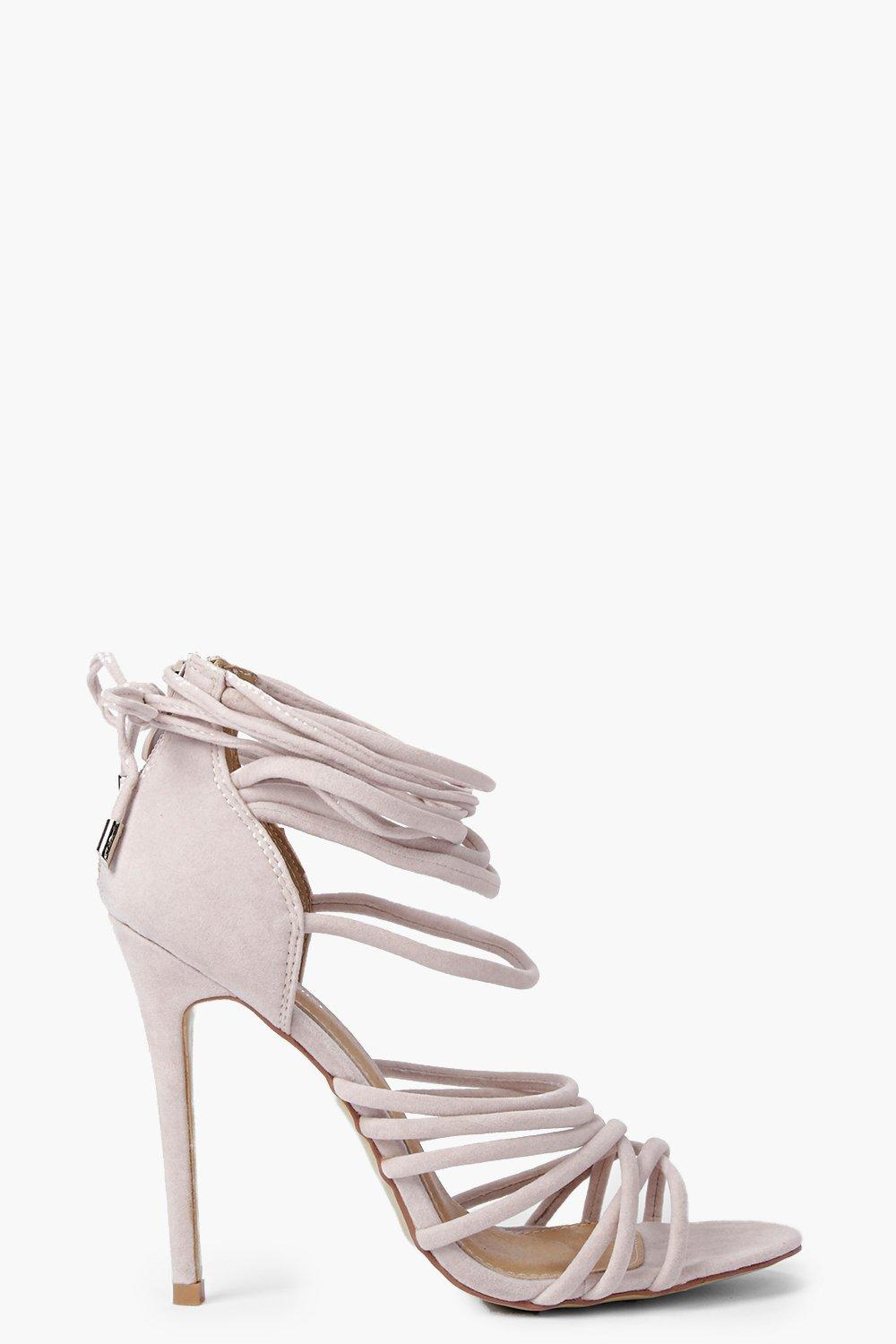 Freya Multi Strap Wrap Tie Stiletto