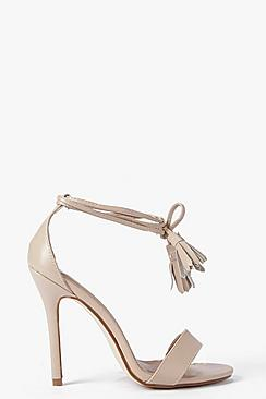 Claire Two Part Wrap Strap Stiletto