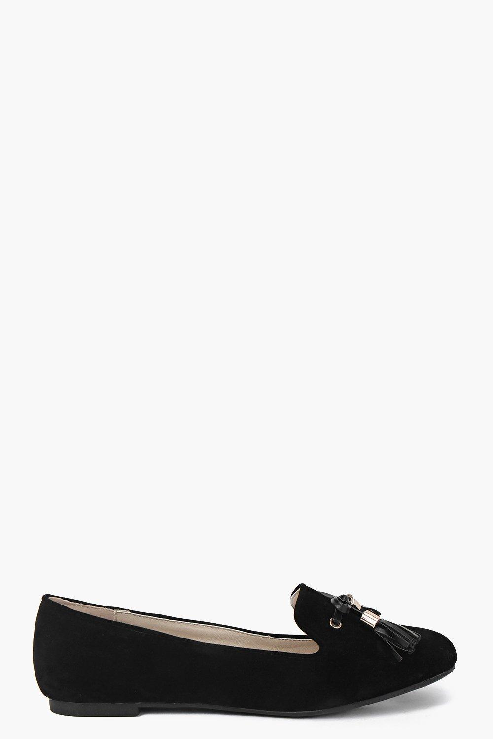 Ella Tassel Trim Loafer