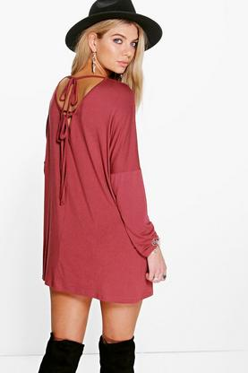 Lisa Tie Back Swing Dress