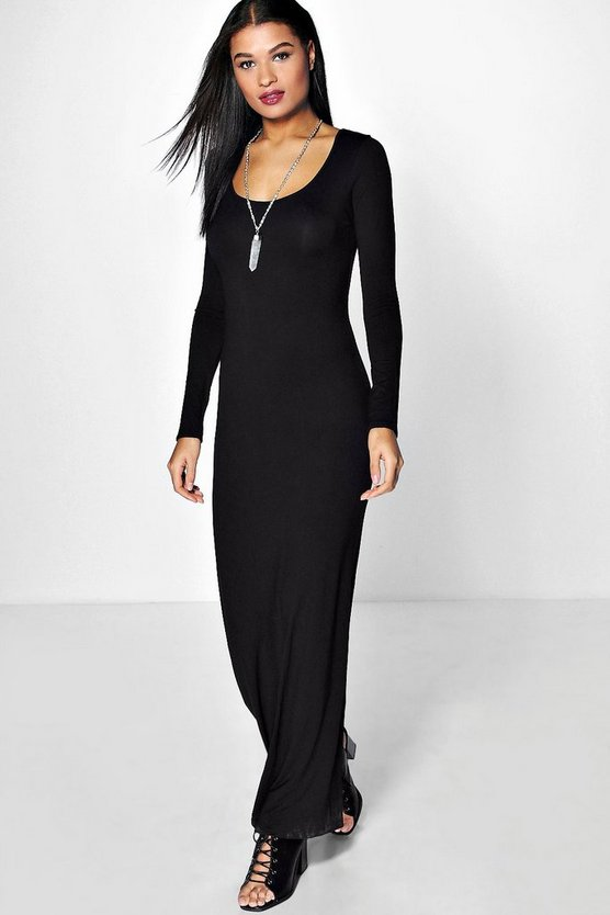Anna Long Sleeve Maxi Dress