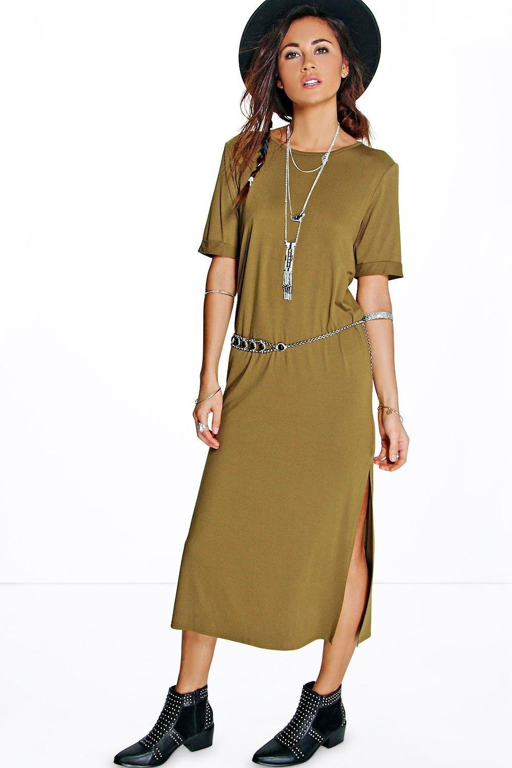 Suzanne Split Side Midaxi Dress