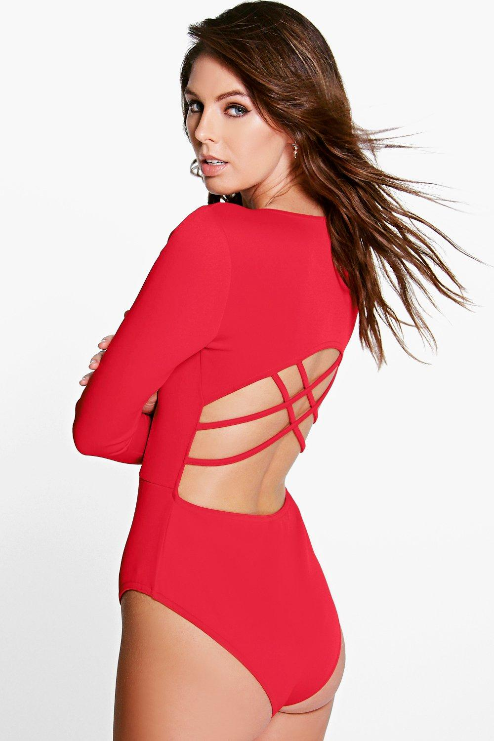 Claire Cross Strappy Back Scuba Body