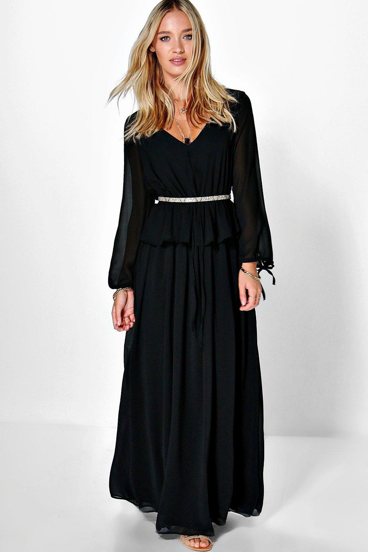 Bohemia Maxi Dress black