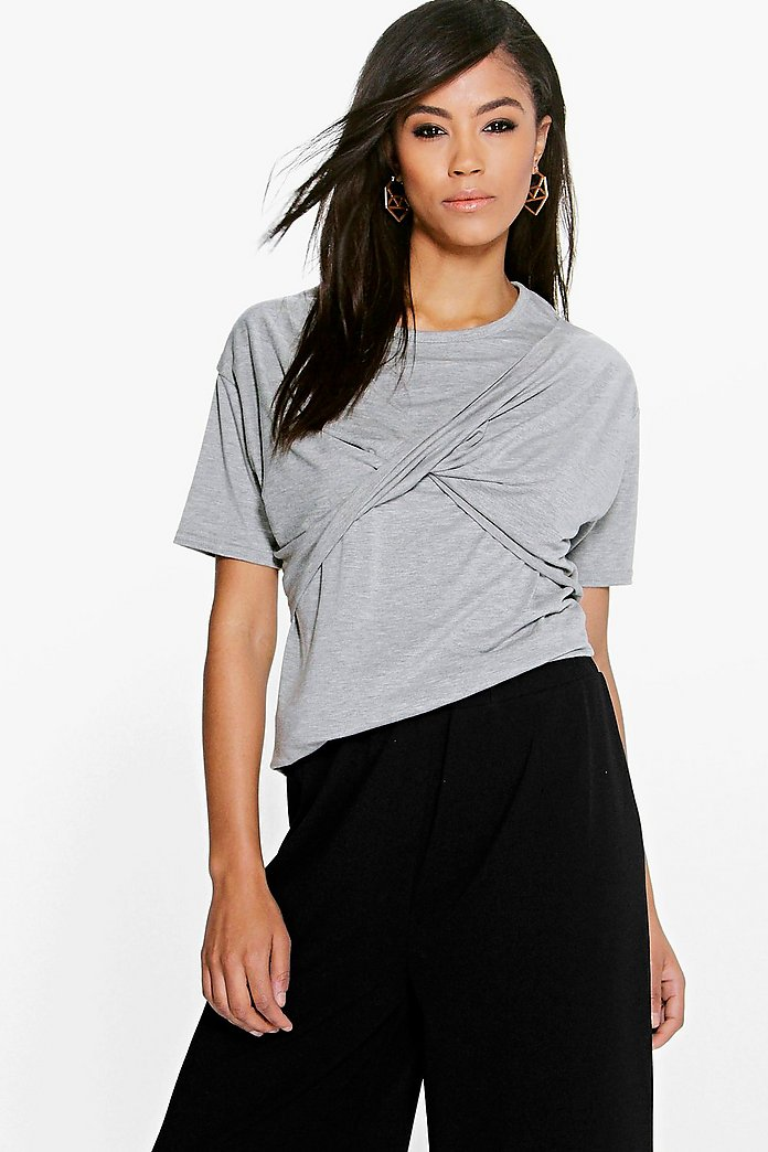 Lydia Twist Front T-Shirt