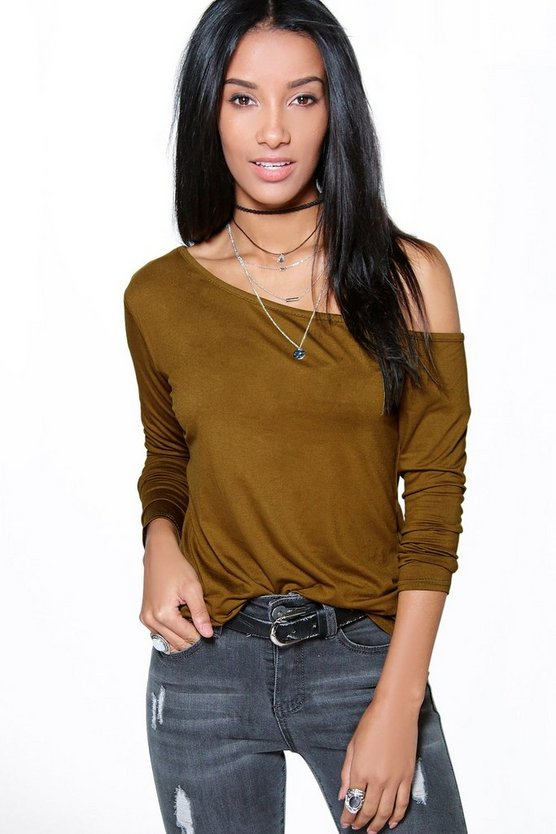 Kayla Off The Shoulder T-Shirt