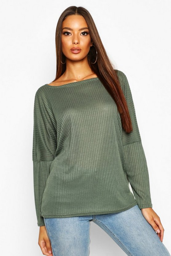Eva Oversized Rib Top