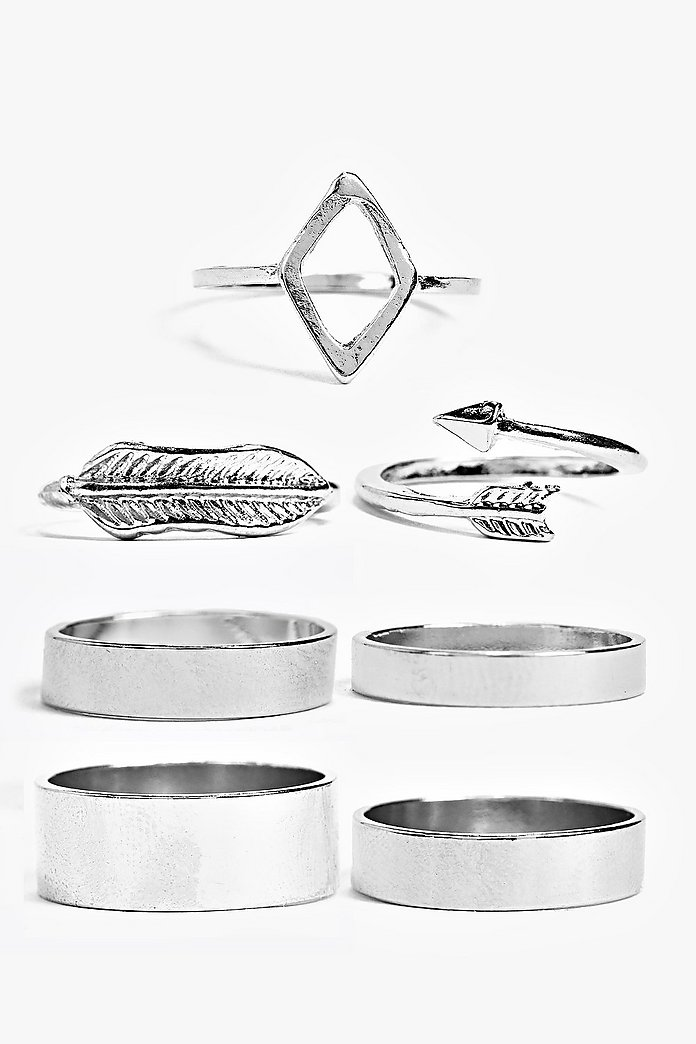 Neve Normal And Midi Mixed Ring Set