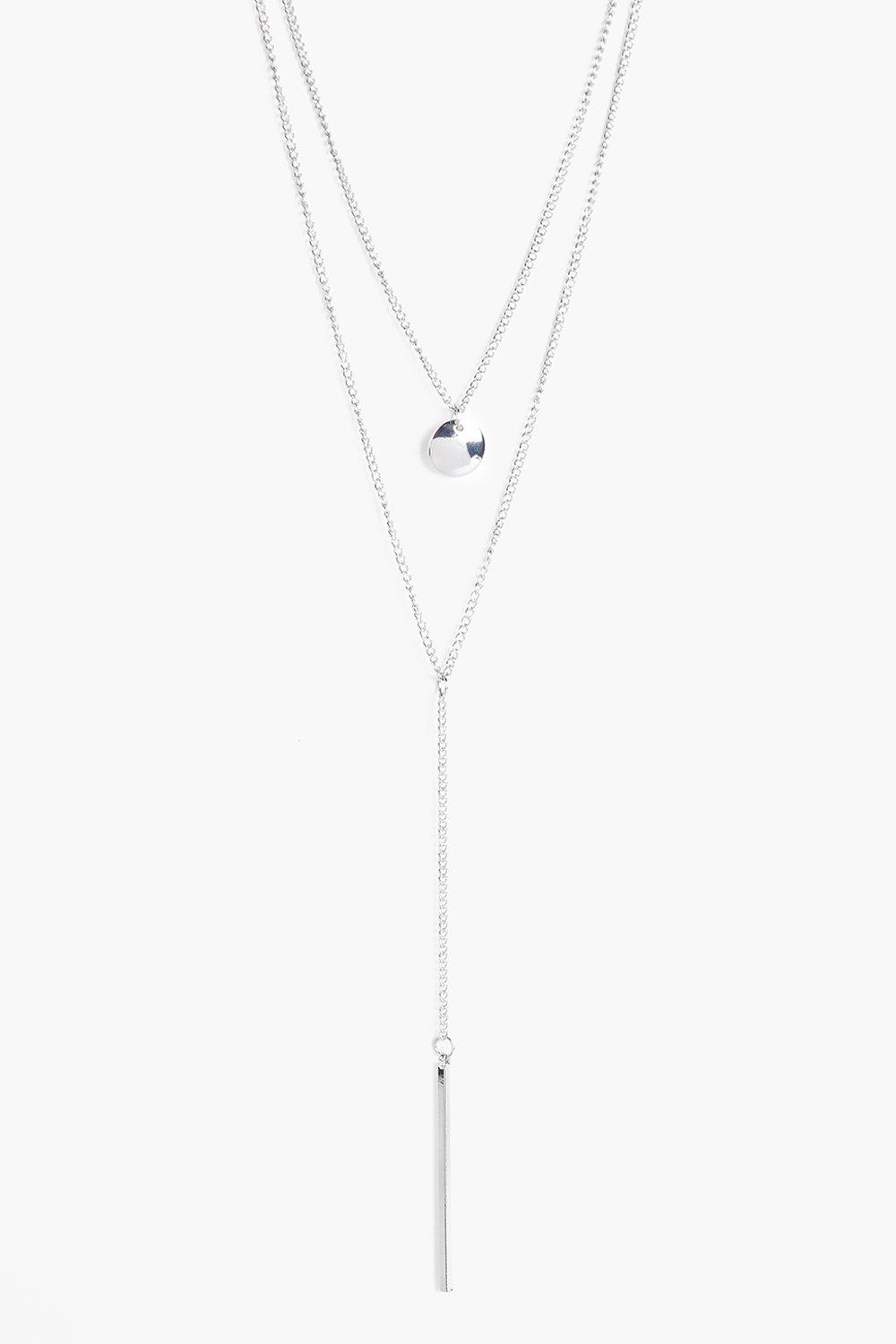 Faye Layered Plunge Necklace