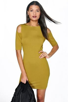 Mirabella Cut Out Bodycon Dress