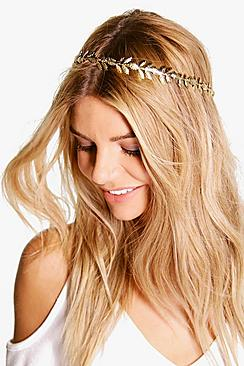 Georgina Leaf Head Crown