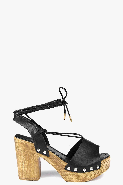 Tammy Two Part Ghillie Wooden Heel