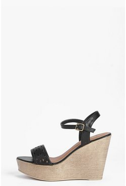 Liz Lazer Cut Two Part Wedge