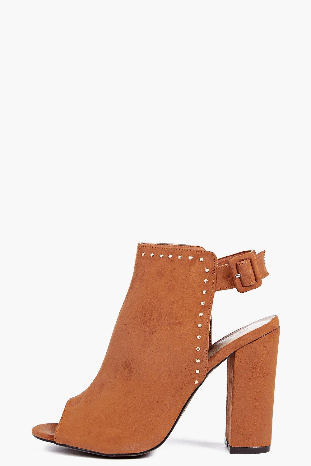 Jennie Pinstud Peeptoe Shoeboot