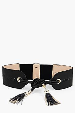 Alexis Knot And Tassel Obi Belt