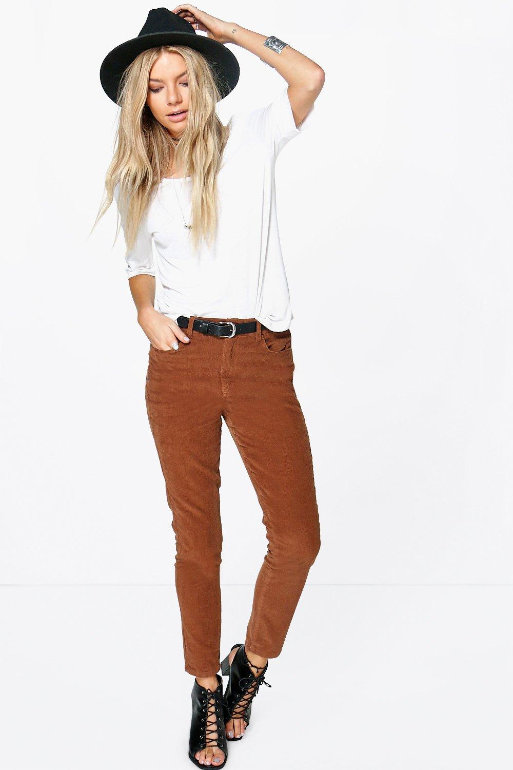 Darcey Skinny Cord Trouser