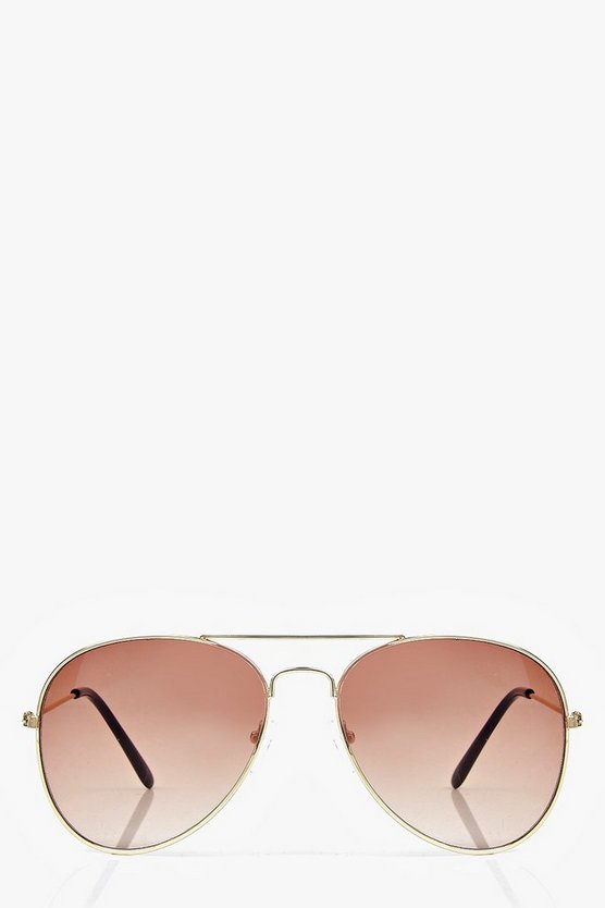 Leah Aviator Sunglasses