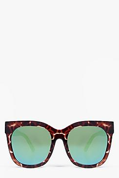 Keira Mirrored  Wayfarer Sunglasses