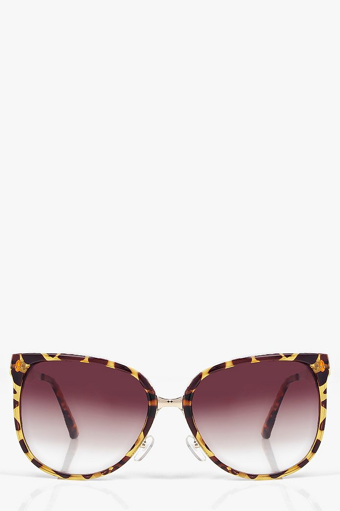 Alisha Retro Oversized Sunglasses