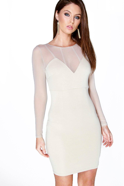 Cute long sleeve bodycon dresses