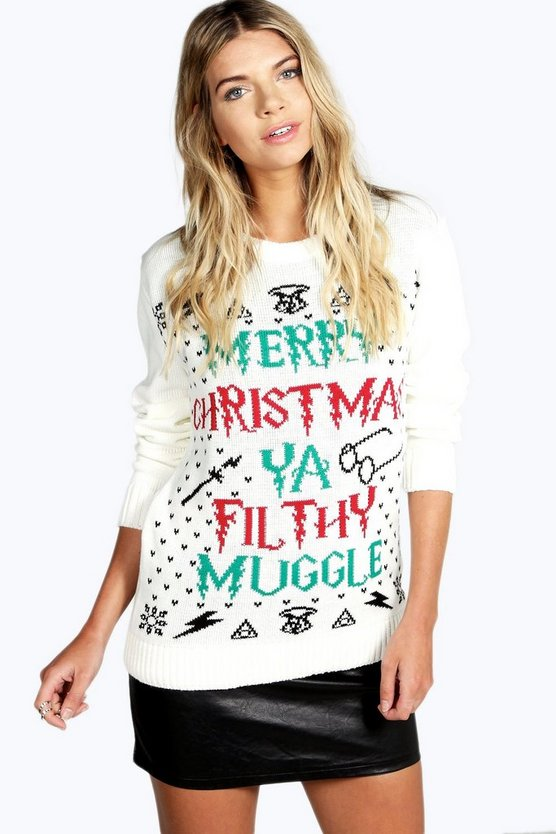 Ya Filthy Muggle Christmas Jumper