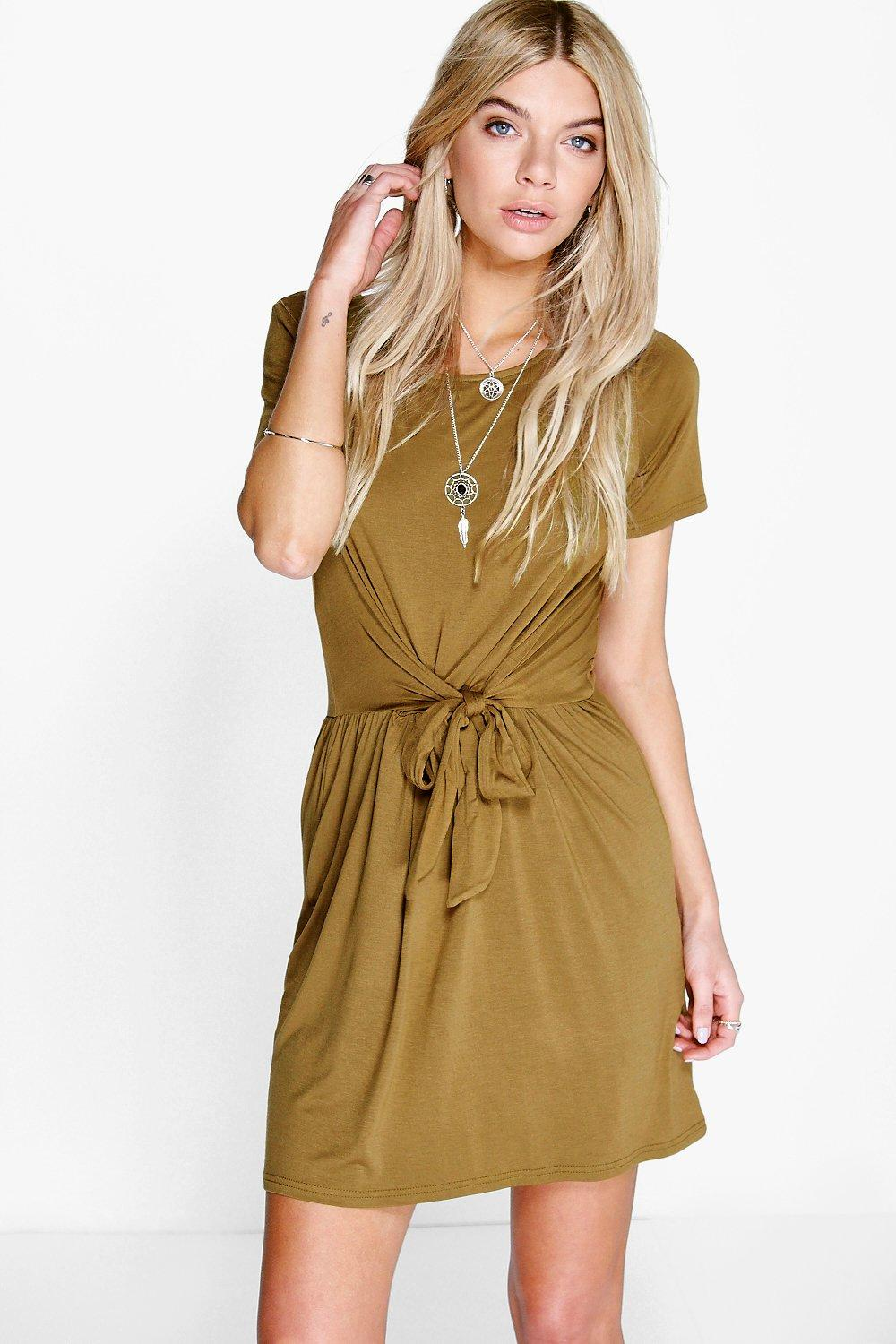 Kate Tie Waist Skater Dress