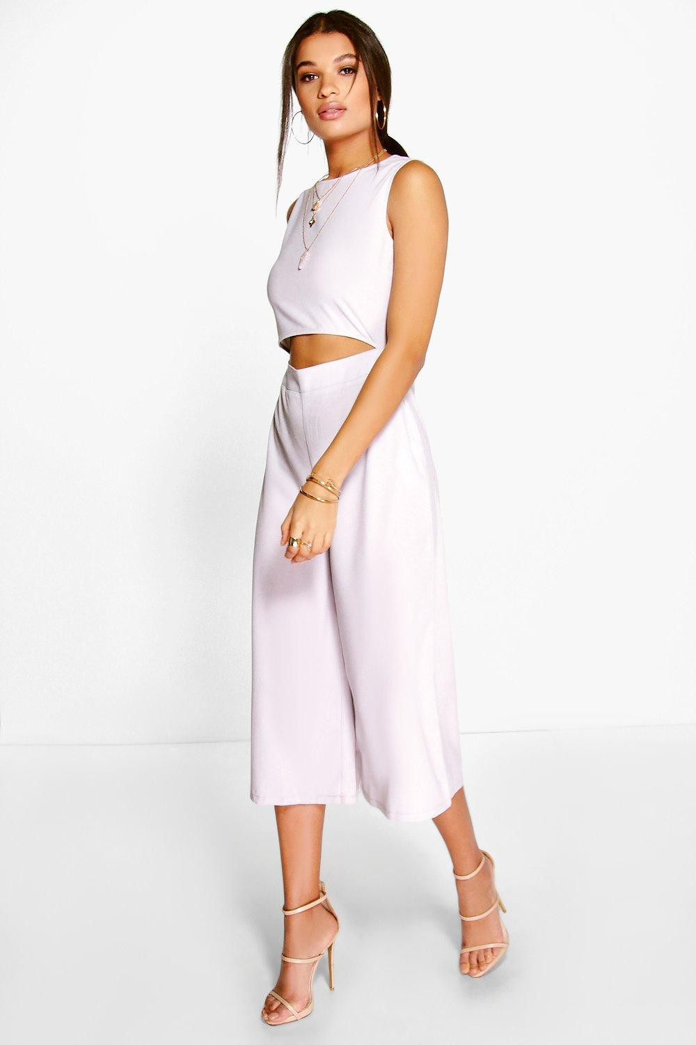 Ost Release Dates For Nice Sale Online Boohoo Culotte Jumpsuit Cheap Websites Clearance Real 6sEdFG7jp