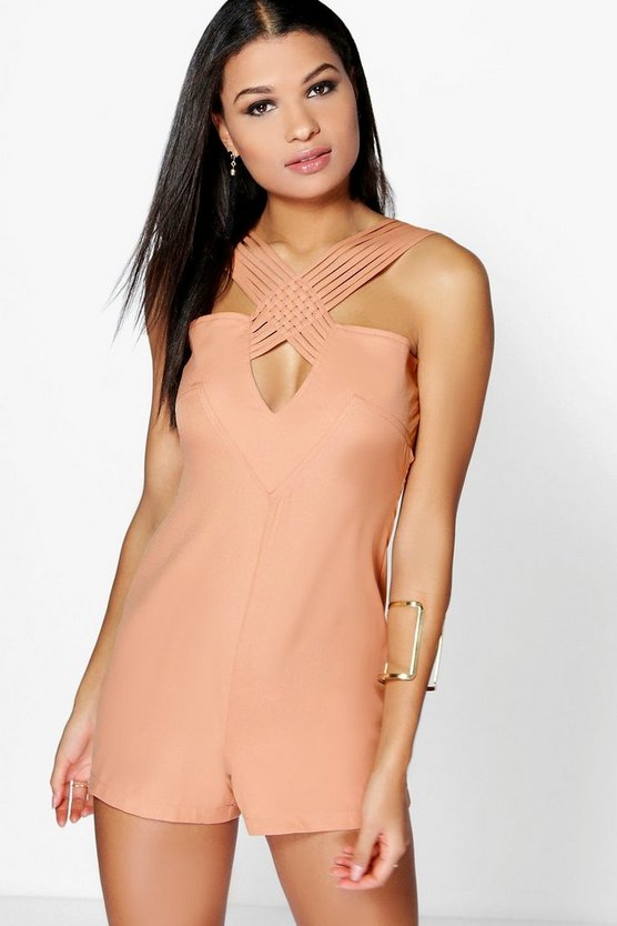 Aura Strap Work Playsuit